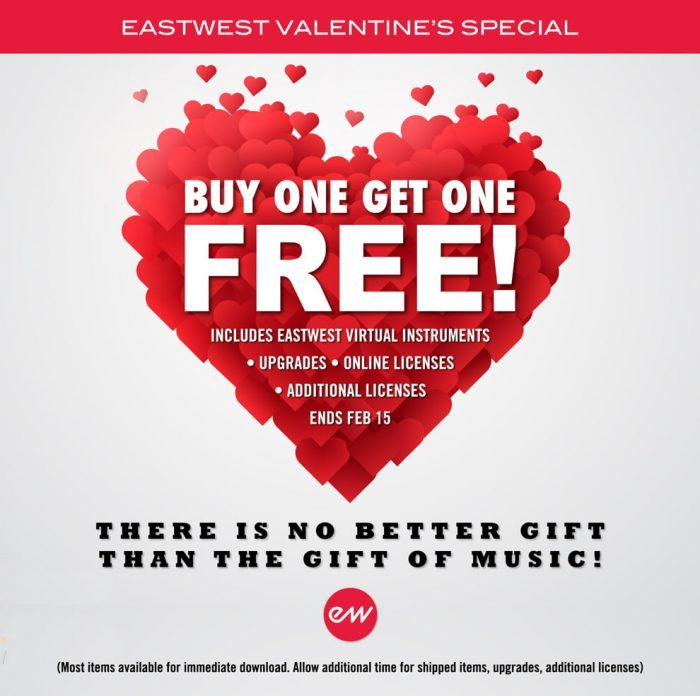 EastWest Valentines Day Special