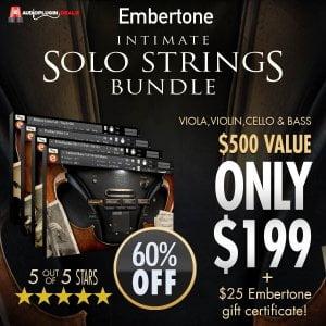 Embertone Intimate Solo Strings Bundle sale