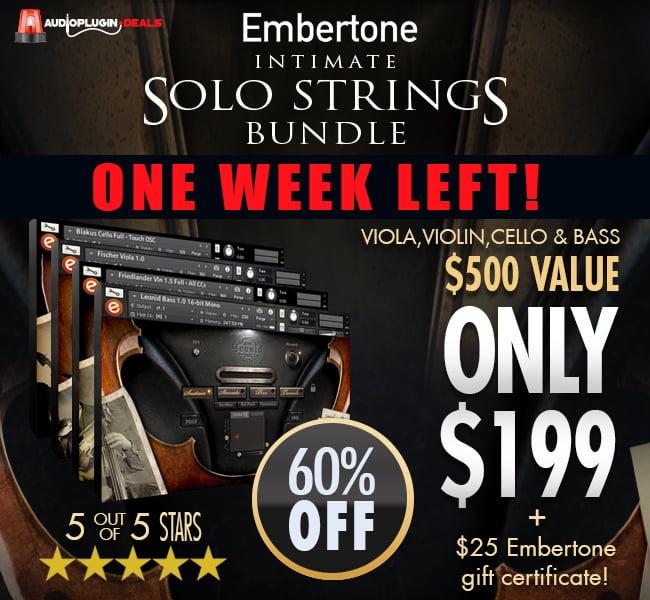 Embertone Intimate Solo Strings Bundle