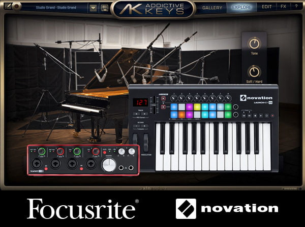 Focusrite XLN Audio Addictive Keys