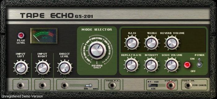 GSi GS 201 Tape Echo