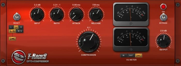 IK Multimedia T RackS Opto Compressor