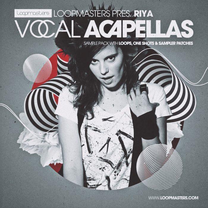 Riya Vocal Acapellas, melodic & uplifting vocals at Loopmasters
