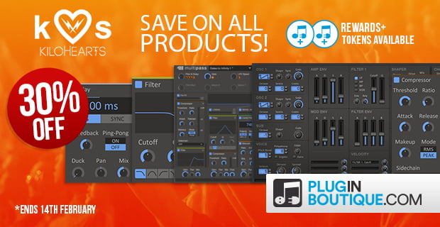 Plugin Boutique Kilohearts sale