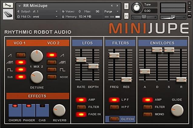 Rhythmic Robot MiniJupe