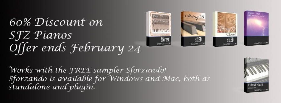 SampleTekk Sfz Pianos sale