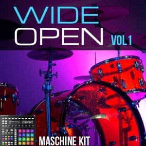 The Loop Loft Wide Open Drums Vol 1 Maschine