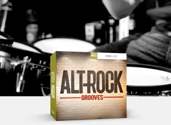 Toontrack Alt Rock MIDI Grooves