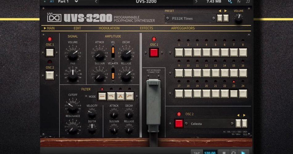 UVI UVS 3200 synth