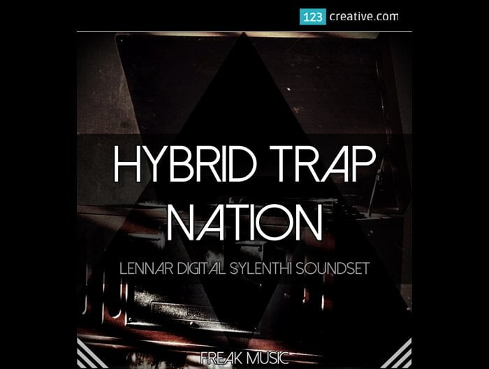 123creative Hybrid Trap Nation Sylenth1