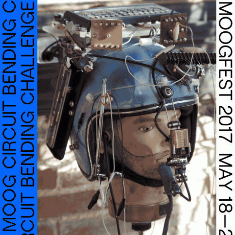 6th Annual Moog Circuit Bending Challenge