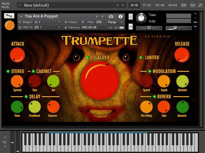 Atom Hub Trumpette