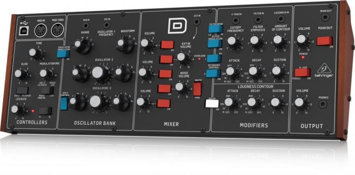 Behringer D synth