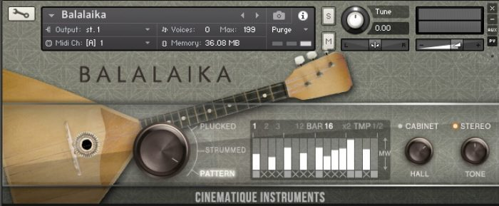 Cinematique Instruments Balalaika