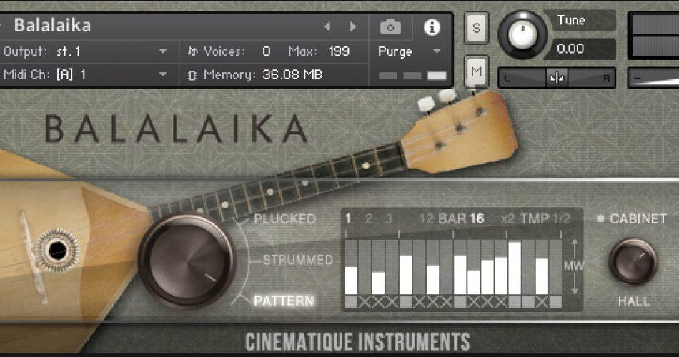 Cinematique Instruments Balalaika