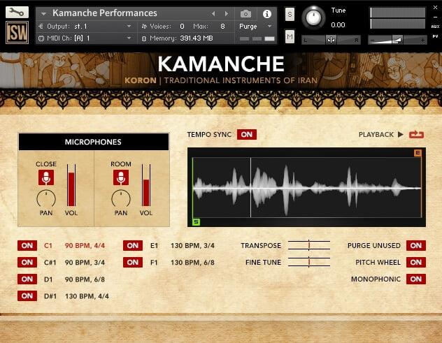 Impact Soundwork Koron Kamanche