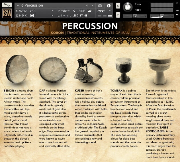 Impact Soundwork Koron Percussion