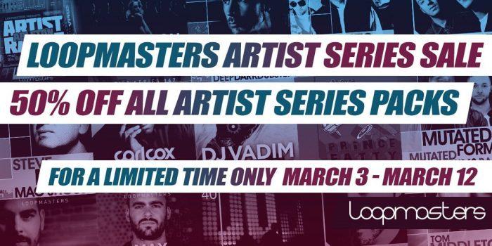 Loopmasters Artist Series sale