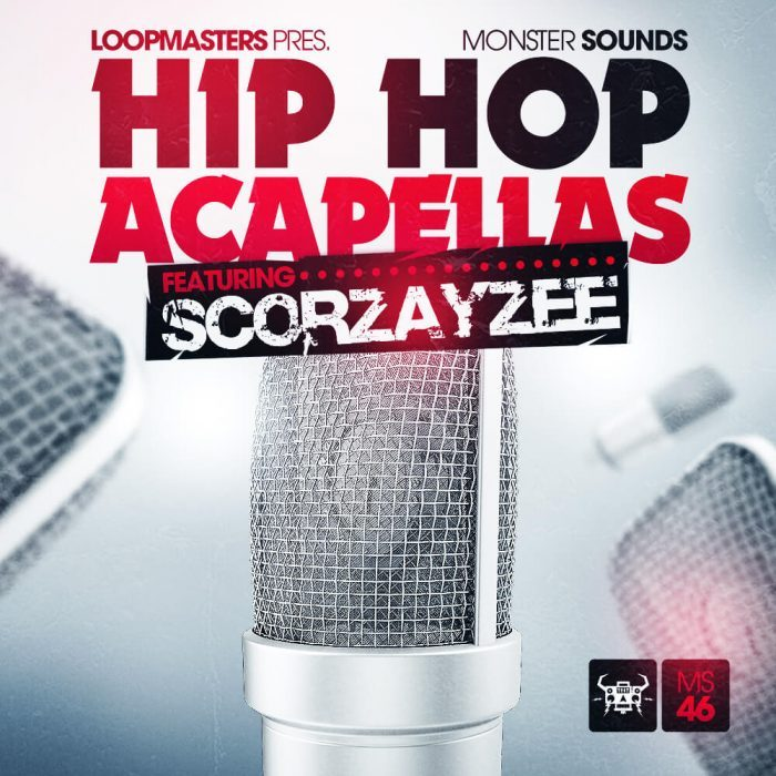 Monster Sounds Scorzayzee Hip Hop Acapellas