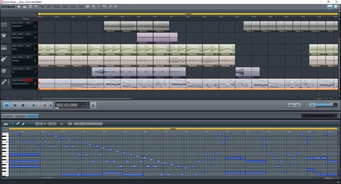 MusicMaker FreeVersion MIDI Editor EN