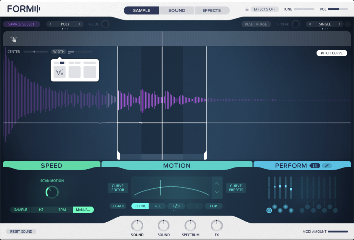 Native Instruments Form Modulate Scan Range