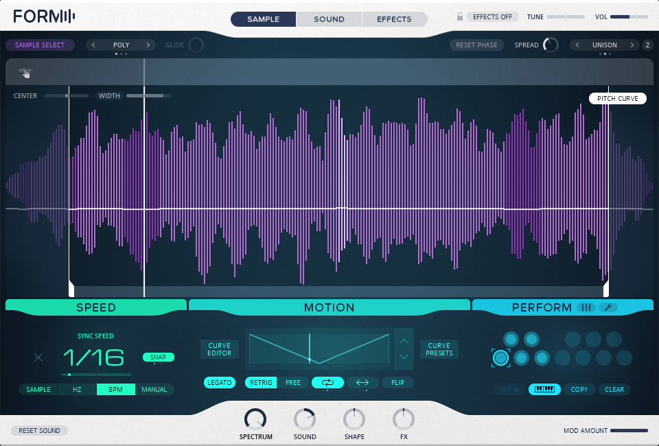 Review of Native Instruments Form sample-based synthesizer
