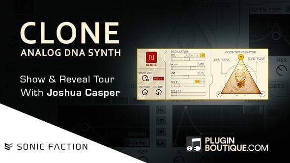 Plugin Boutique Sonic Faction Clone Show & Reveal
