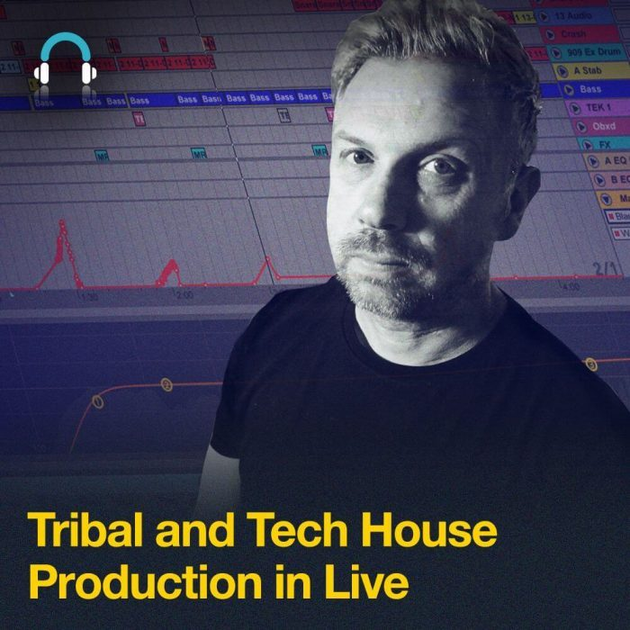 Producertech Tribal and Tech House Production in Live by Ian Bland