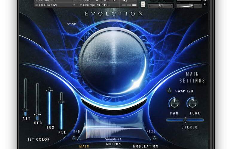 Sonuscore Evolution Atlantica blue