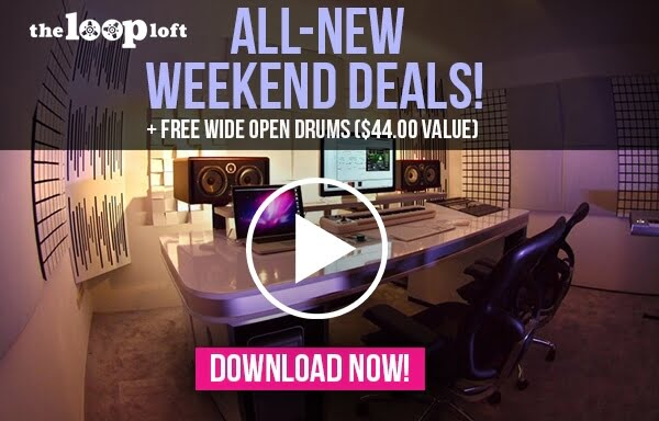 The Loop Loft Weekend Deals Wide Open Drums