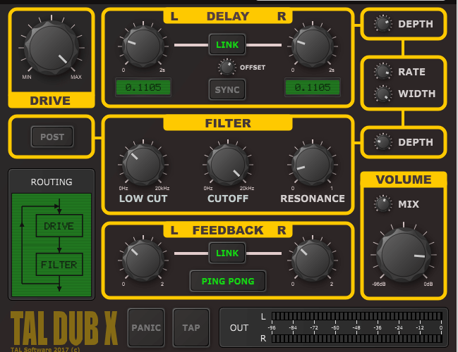Togu Audio Line TAL Dub X 1.0