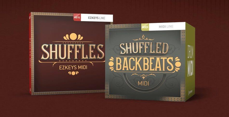 Toontrack Shuffles EZkeys MIDI & Shuffled Backbeats MIDI feat