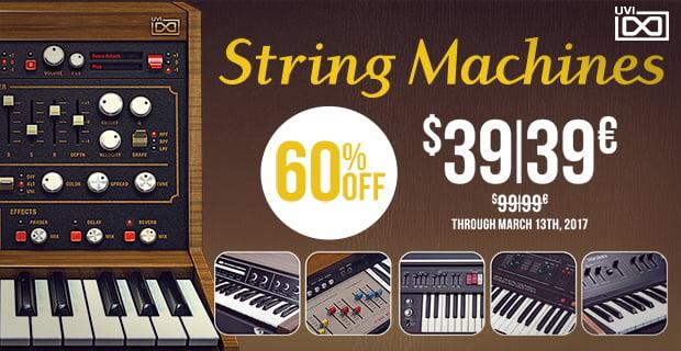 UVI String Machines sale