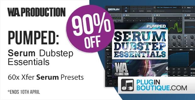 WA Pumped Serum Dubstep Essentials sale