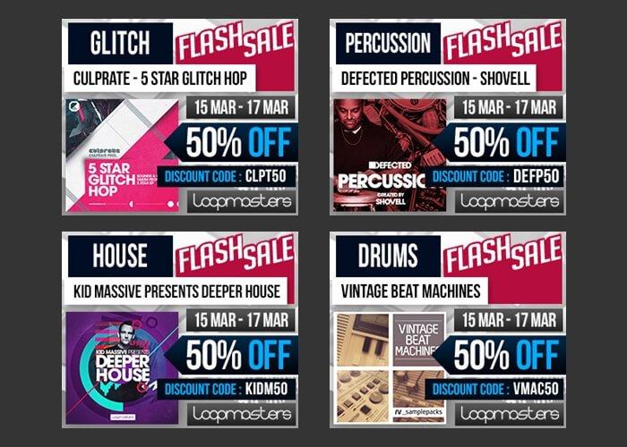 loopmasters flash sales
