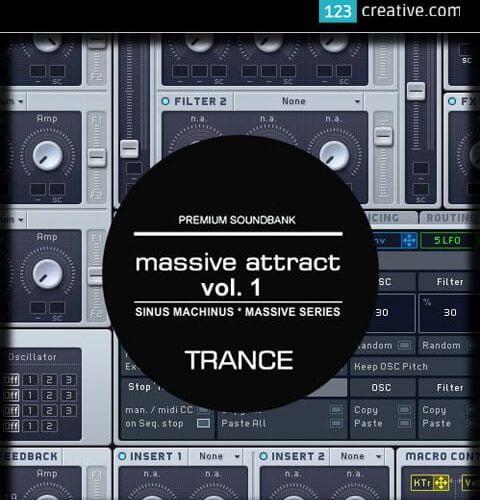 123creative Massive Attract Vol. 1 Epic sound bank