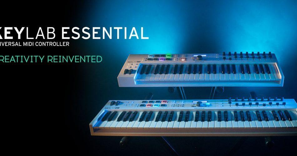 Arturia KeyLab Essential feat