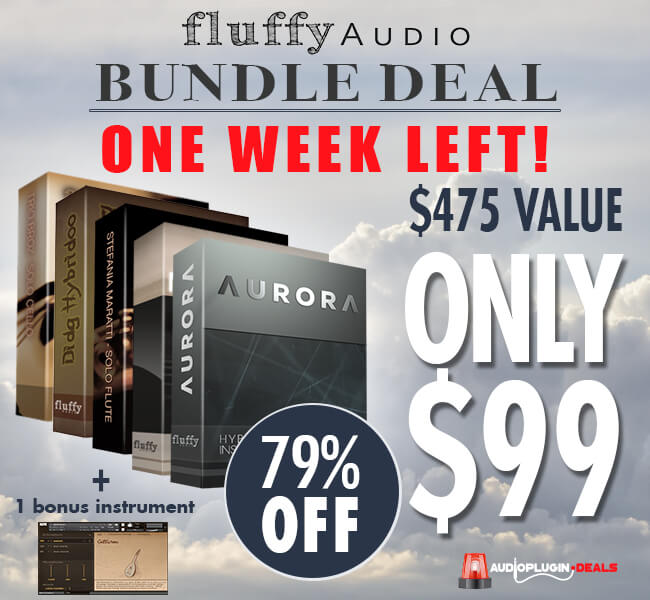 Audio Plugin Deals Fluffy Audio Bundle Deal week