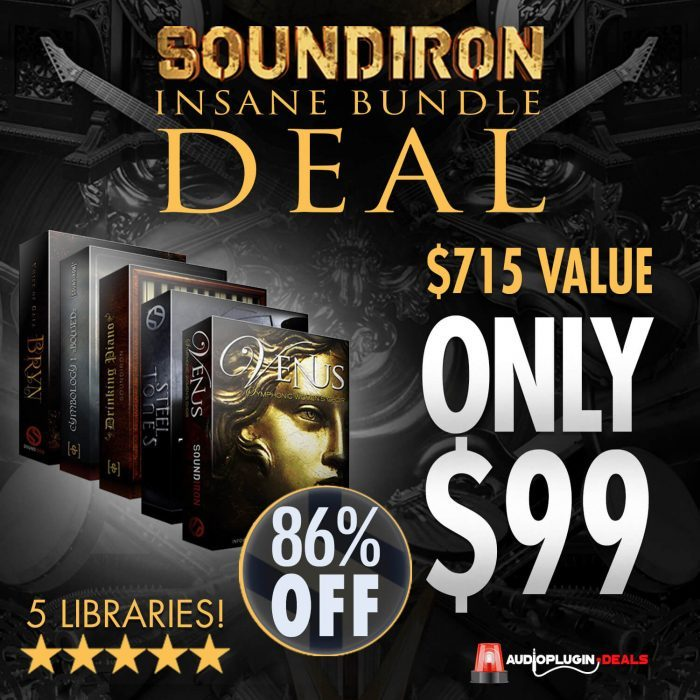 Audio Plugin Deals Soundiron Bundle