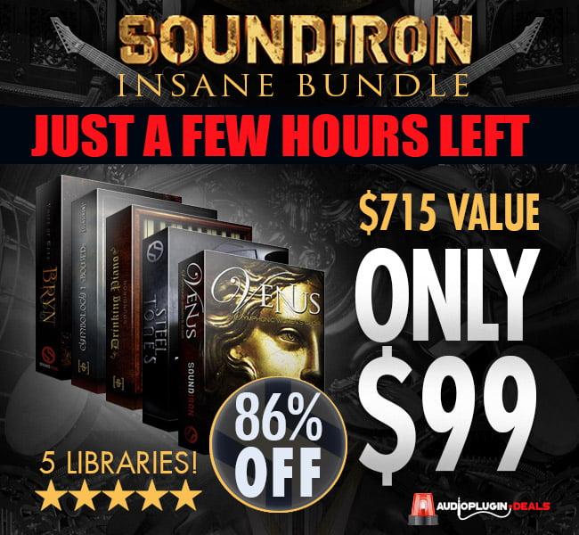 Audio Plugin Deals Soundiron Insane Bundle hours