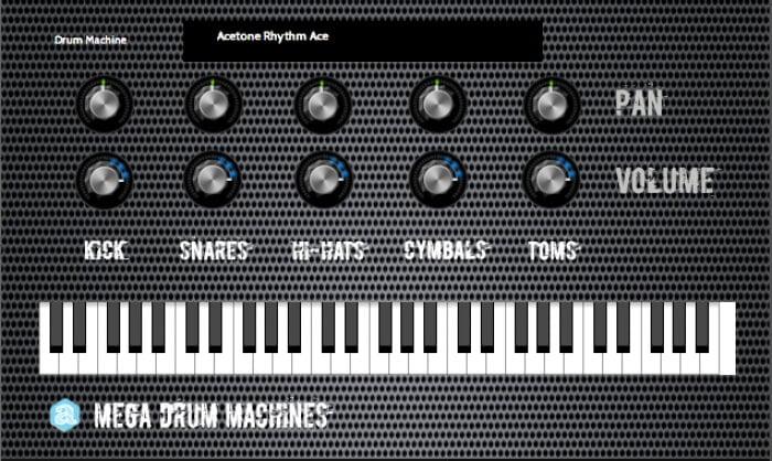 Autodafe Mega Drum Machines plugin
