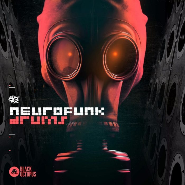 Black Octopus Neurofunk Drums by ARTFX
