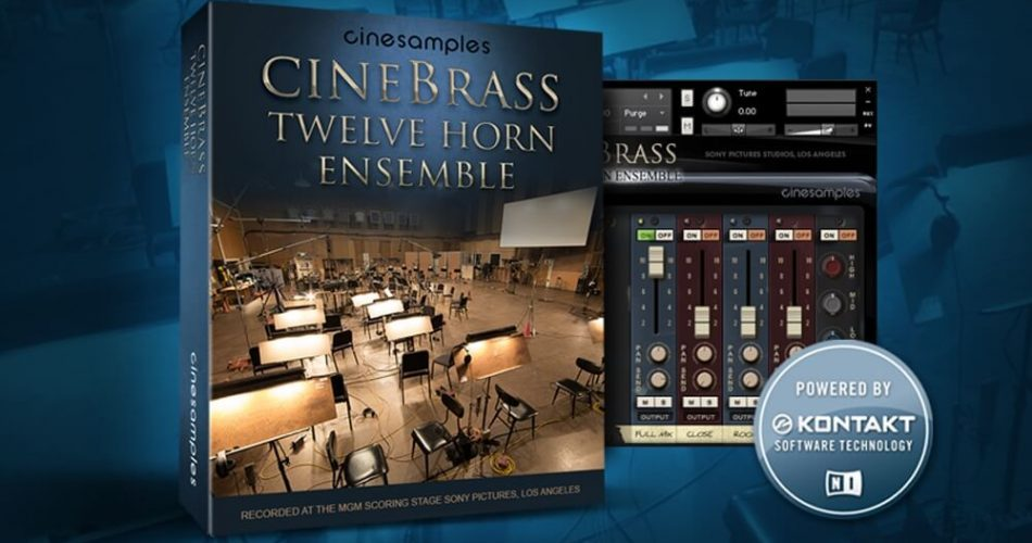 Cinesamples CineBrass Twelve Horn Ensemble