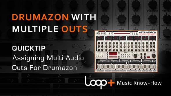 D16 Drumazon multiple outputs