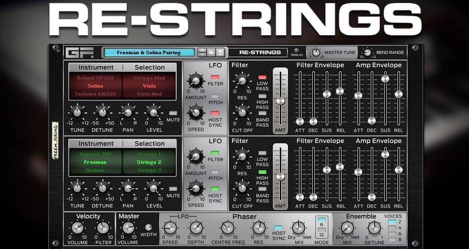 GForce Media Re-Strings