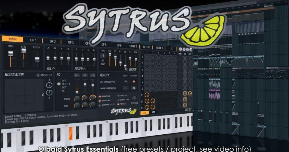 Image Line Olbaid Sytrus Essentials