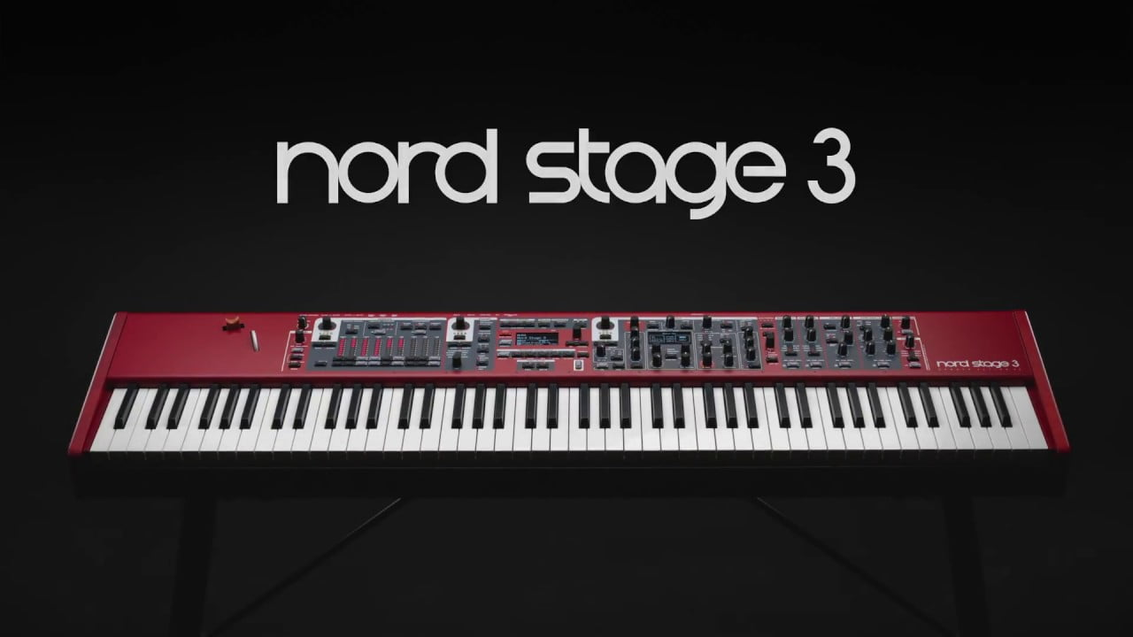 nord stage 3 performance keyboard introduced at musikmesse. Black Bedroom Furniture Sets. Home Design Ideas