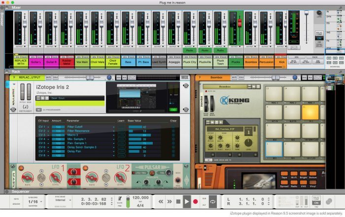 Propellerhead Reason 9.5 CV