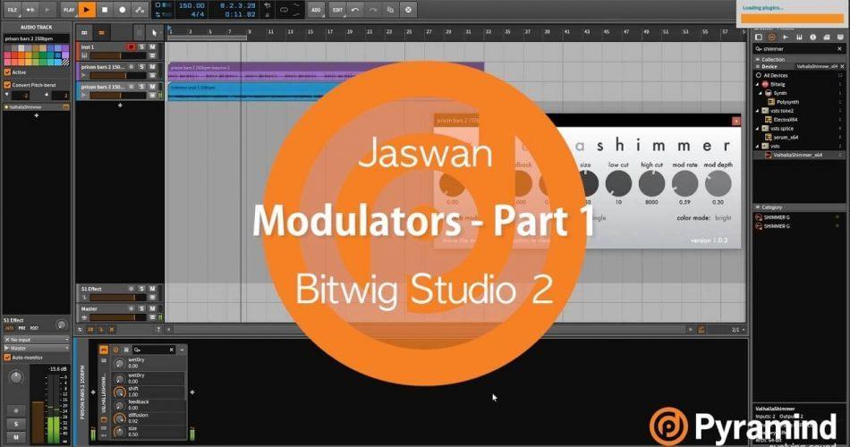 Pyramind Bitwig Studio 2 modulators