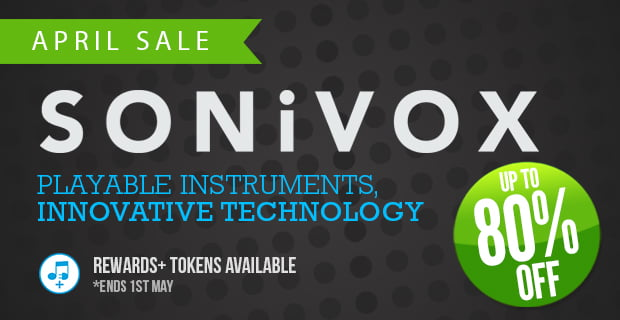 Sonivox April Sale